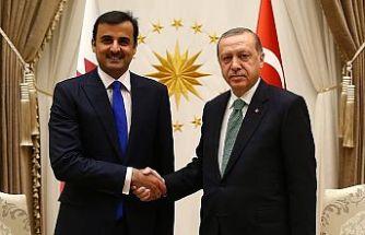 Katar Emiri'nden Erdoğan'a 15 Temmuz tebriği