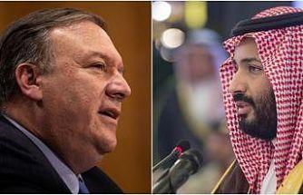 ABD Dışişleri Bakanı Pompeo, Suudi Veliaht Prens Salman ile telefonda görüştü