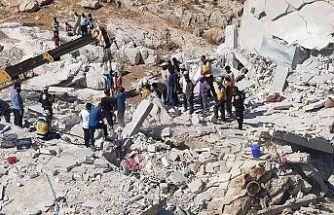 İdlib'deki patlamada ölenlerin sayısı 67'ye çıktı