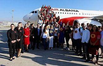 Arnavutluk'u metropollere bağlayan köprü: Air Albania