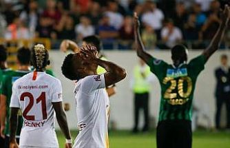 Galatasaray liderliği Manisa'da bıraktı
