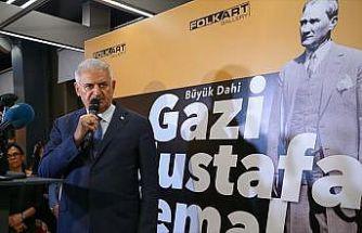 'Büyük Dahi/Gazi Mustafa Kemal' sergisi açıldı