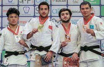 Dünya Gençler Judo Şampiyonasında altın madalya