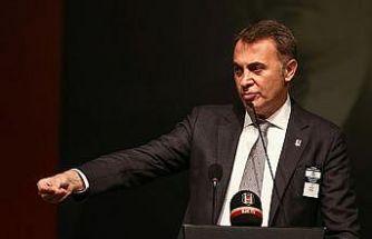 Beşiktaş Kulübü Başkanı Orman: Pusuya yatmayın, pusu kalleşlerin işidir
