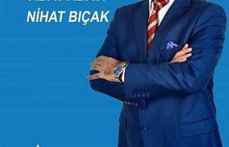 Bursa Yenişehir Belediye Başkanı aday adayı Nihat Bıçak başvurusunu yaptı.