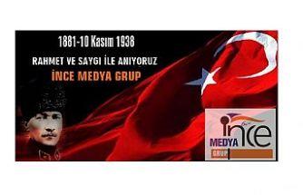Gazi Mustafa Kemal Atatürk'ü vefatının 80. yıl dönümünde rahmet  ve saygı ile anıyoruz.