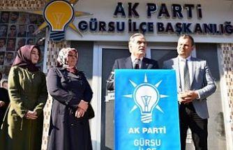 """Gürsu Belediye başkan adayı Arslan, """"yaşatan Gürsu için adayız"""""""