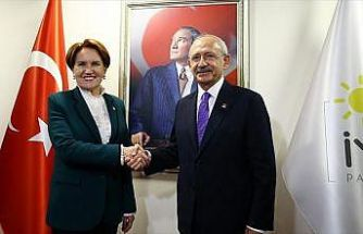 Kılıçdaroğlu, Akşener ile görüştü