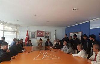 Muhammed İzzet Dursun Mudanya ak parti belediye başkanı aday adaylığını açıkladı.