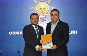 Serkan ışık Osmangazi belediye başkan aday adaylığına başvurdu.