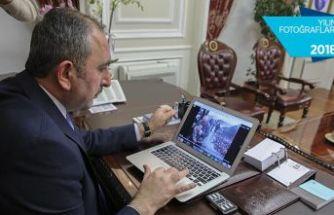 Adalet Bakanı Gül 3 fotoğrafa oy verdi