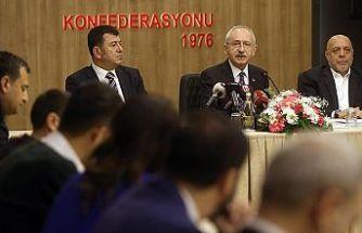 CHP Genel Başkanı Kılıçdaroğlu: İşçilerin emeklerinin karşılığını almalarını isteriz
