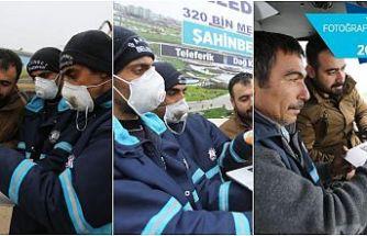 Gaziantep'te belediye temizlik görevlilerinin tercihi 'Ali Dede ve kedisi' oldu