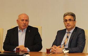 İmo Bursa şube ve İmsiad'tan sektördeki krize karşı işbirliği