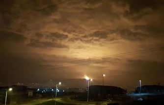 Sakarya'da doğal gaz dağıtım hattında patlama