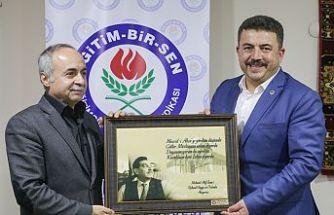 EĞİTİM BİR SEN'in 27'nci kuruluş yıldönümü ve Mehmet Akif İnan'ı anma programı