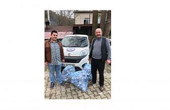 Engelli vatandaşlara bir destek'de Kaya et balık Restaurant sahibin'den