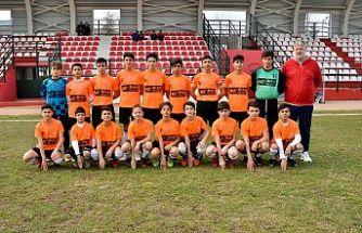 Gürsu Belediyespor U14 Takımı Namağlup Şampiyon