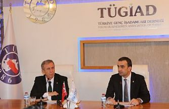 Mansur Yavaş Tügiad Ankara'nın Konuğu Oldu