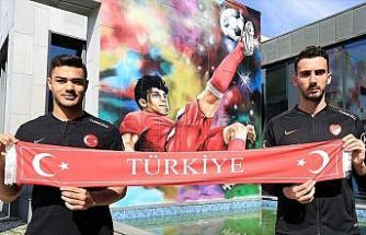 A Milli Futbol Takımı'nın genç oyuncuları umutlu