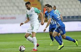 Kasımpaşa ile Bursaspor berabere kaldı