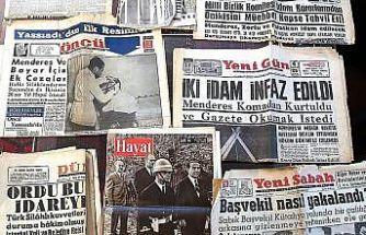 Darbenin, gazete kupürlerindeki ayak sesleri