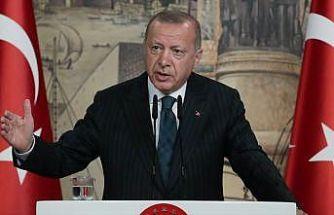 Cumhurbaşkanı Erdoğan: Yavuz gemisi Türkiye'nin kararlılığının en somut ifadesidir