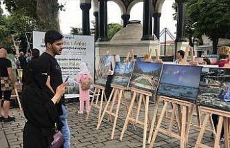 'Bana benim ülkemden, Filistin'den bahset' fotoğraf sergisi açıldı