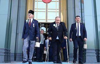 Gazilerden Cumhurbaşkanı Erdoğan'a teşekkür