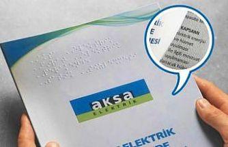 Aksa Elektrik'ten görme engellilere özel sözleşme