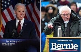 Demokrat adaylar Biden ve Sanders anketlerde yarışı önde götürüyor