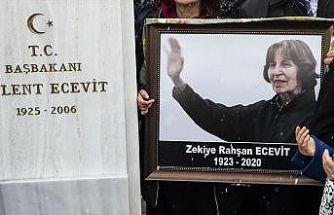 Rahşan Ecevit'in Devlet Mezarlığı'na defni için hazırlanan yasa teklifi TBMM'ye sunuldu