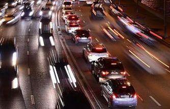 Trafiğe 1 ayda 94 bin 540 aracın kaydı yapıldı