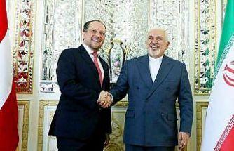 Zarif, Avusturyalı mevkidaşıyla nükleer anlaşmayı görüştü