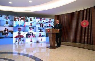 Başkan Erdoğan, 31 Mayıs Dünya Tütünsüz Günü'nde videokonferans ile gençlerle buluştu!