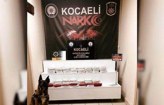 GÜNCELLEME - Tırda yatağın altına gizlenmiş çuvaldan 62 kilogram esrar çıktı