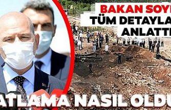 İçişleri Bakanı Süleyman Soylu'dan Sakarya'daki patlamaya ilişkin açıklama: