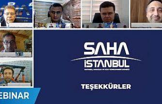 SAHA İstanbul'dan 7 haftada 39 saat canlı yayın