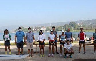 23 Yaş Altı Kürek Milli Takımı, Sapanca'da kampa girdi