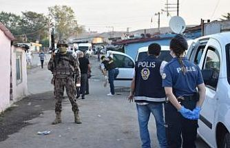 Çorlu'da helikopter destekli uyuşturucu operasyonunda 14 zanlı yakalandı