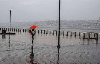 Dikkat! Marmara Bölgesi'nde sağanak yağış bekleniyor