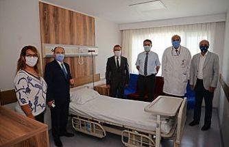 Uludağ Üniversitesi Hastanesi'nin yenilenen kliniği hizmete girdi