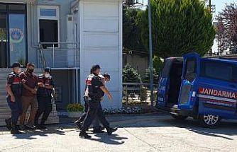 Yalova'da telefonla 1 milyon lira dolandırdıkları iddia edilen iki şüpheli tutuklandı