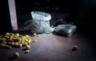 Bursa'da cips paketine 1 kilo 100 gram eroin yakalandı