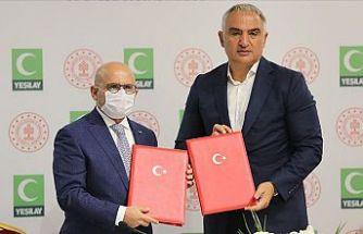 Kültür ve Turizm Bakanlığı ile Yeşilay arasında iş birliği protokolü imzalandı