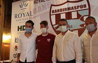 Royal Hastanesi Bandırmaspor, Trabzonsporlu Rahmi Anıl Başaran'ı kiraladı