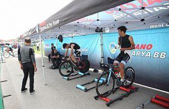 Yol Bisikleti Türkiye Şampiyonası'nda ilk gün yarışları sona erdi