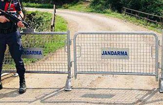 Bir mahalle Kovid-19 nedeniyle karantinaya alındı