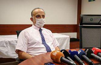 Bursa' Kovid-19 aşısının denemeleri devam ediyor