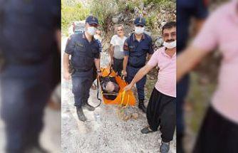 Kayıp ihbarı yapılan kişiyi jandarma timleri buldu